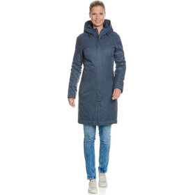 Tatonka Floy Coat Women matt blue
